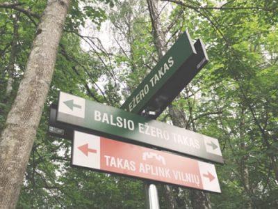 Vilniaus šilas - 3 etapas - takas aplink Vilnių-min